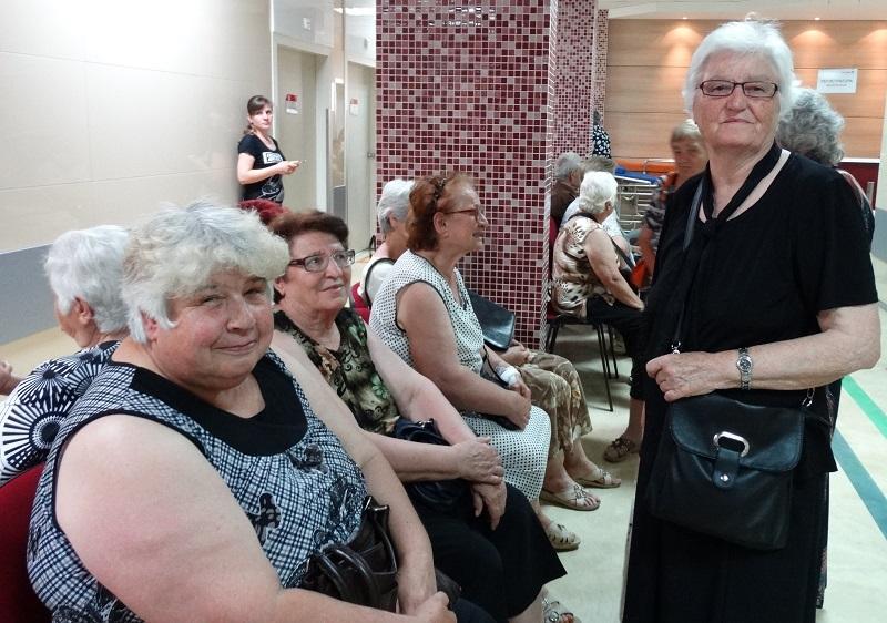 Безплатни прегледи на пенсионери в Дева Мария