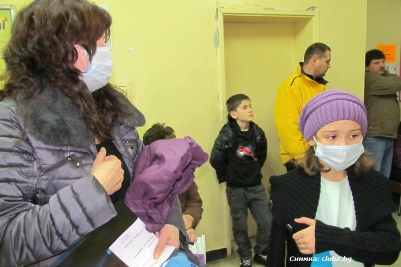 Грипът в Бургас: Децата два пъти повече от възрастните болни