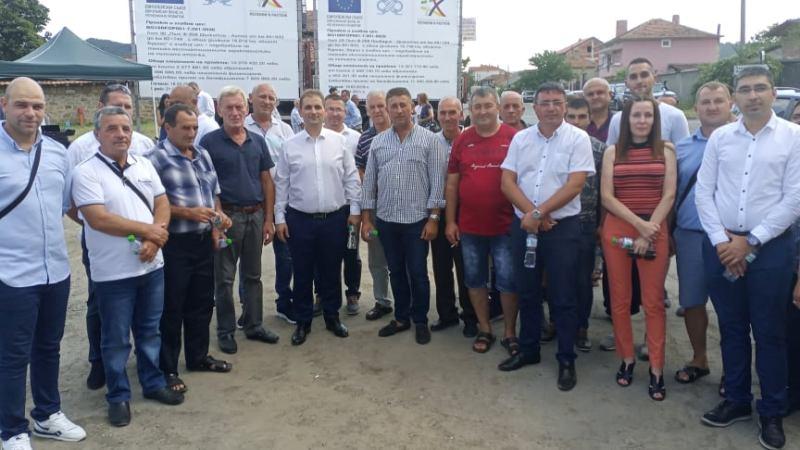 ДПС-Бургас доволни: С труд и постоянство успяхме да постигнем ремонта на пътя Провадия – Дъскотна – Айтос