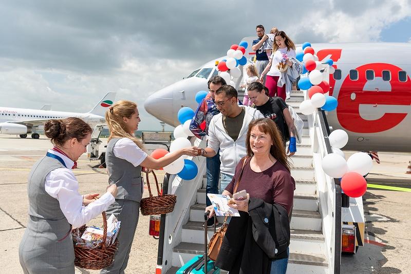 Jet2.com и Jet2holidays отпразнуваха първия си полет до Бургас