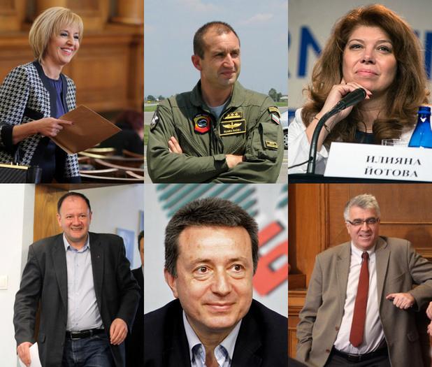 БСП избират от шестима за кандидат-президент