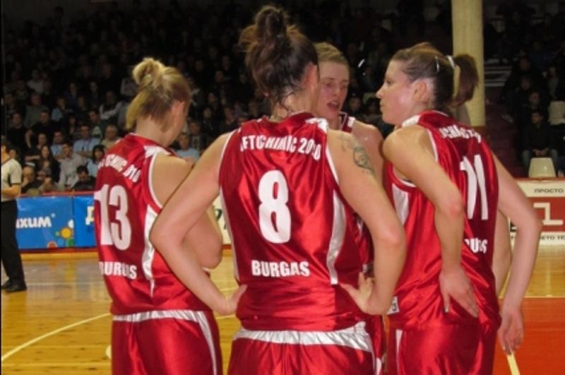 Бургаските баскетболистки с ударно начало в първенството