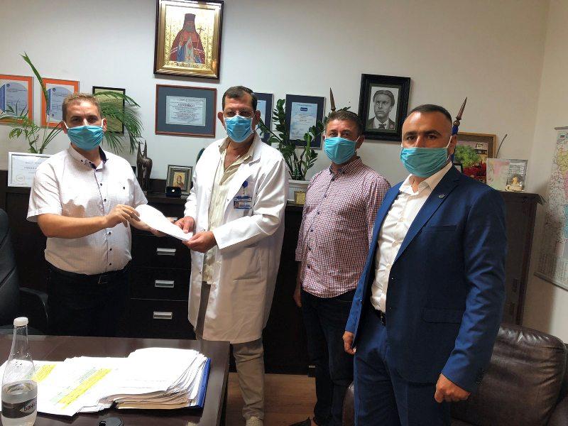 ДПС-Бургас отново с дарение на предпазни маски и тестове срещу коронавируса