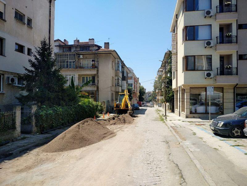 """Затварят част от улица """"Средна гора"""" в Бургас в понеделник"""