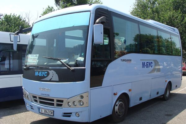Вижте кои автобуси от Бургас за Варна минават и през Слънчев бряг