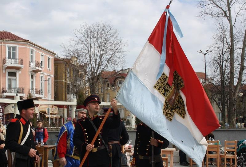 Битката за Самарското знаме в Бургас
