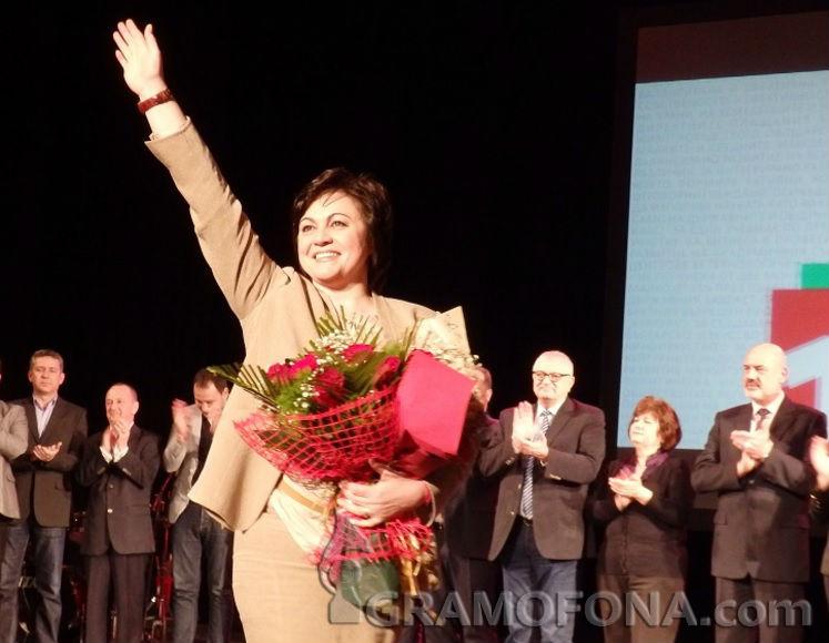 Корнелия Нинова след евровота: Не съм в оставка, но БСП отново ще избира председател