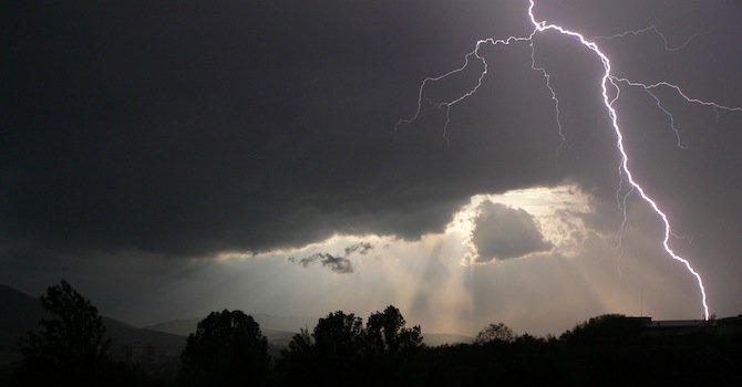 Съвети при гръмотевични бури от EVN