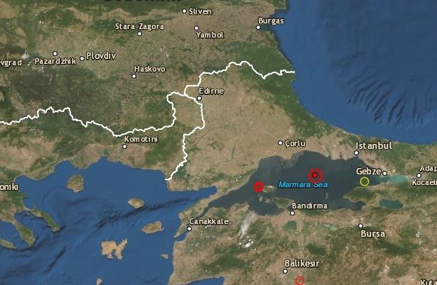 Земетресение в Турция преди минути, усети се слабо и в Бургас