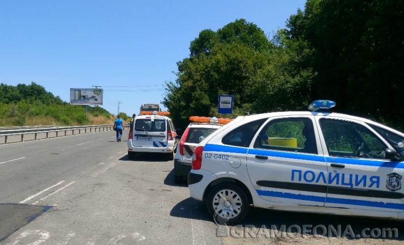 Група украинчета закъсаха край Слънчев бряг, спирачките на автобуса им се подпалили