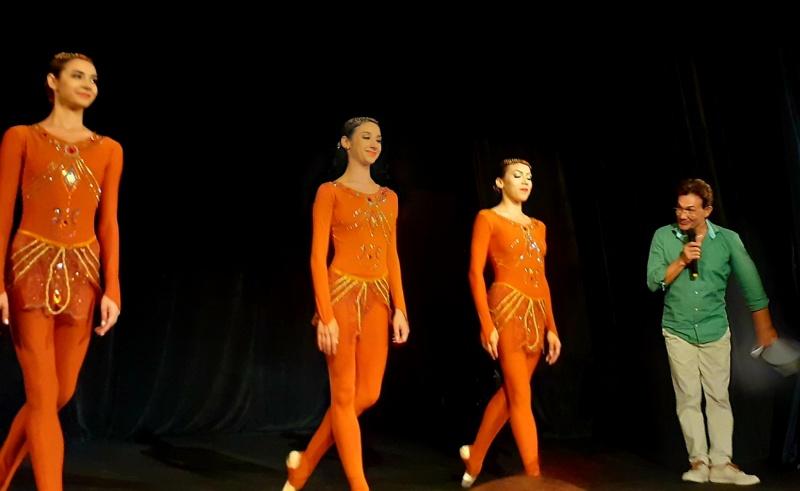 Балерини танцуваха на представянето на книгата за Хикмет Мехмедов