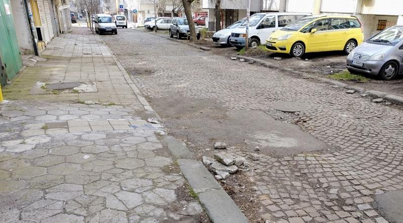 """Започва ремонтът на ул. """"Самуил"""""""