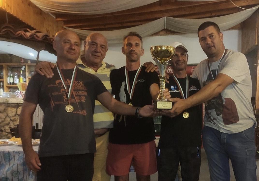 """""""Черноморец"""" отново е безапелационен шампион по подводен риболов"""