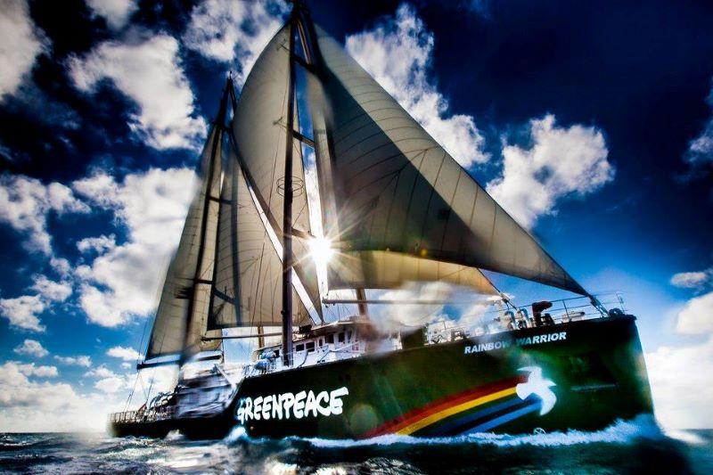 Легендарният ветроход на Грийнпийс се завръща в Бургас