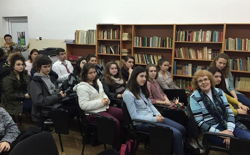 Открит урок за Холокоста в Немската гимназия