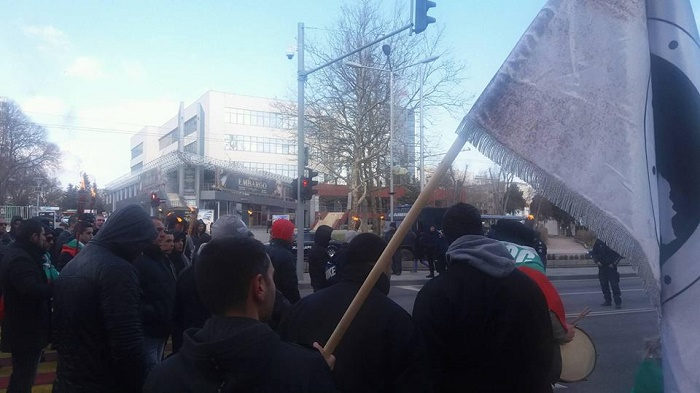 Националисти протестираха в Бургас