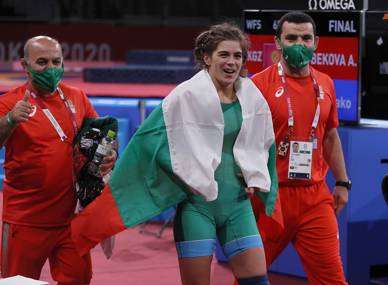 Тайбе Юсеин спечели олимпийски бронз