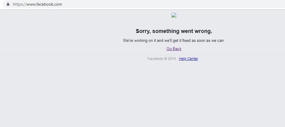 Фейсбук спря да работи