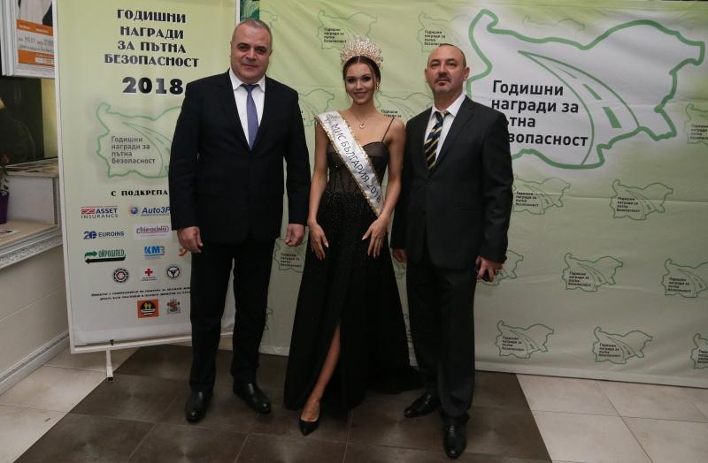 Красавица номер 1 на Бургас и на България блесна на годишните награди за пътна безопасност