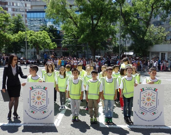 Първо детско полицейско управление в Бургас