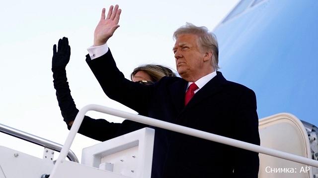 """Доналд Тръмп напусна Белия дом с думите """"Ще се върнем"""""""