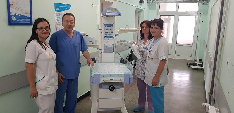 Болницата в Поморие вече има реанимационна маса за новородени
