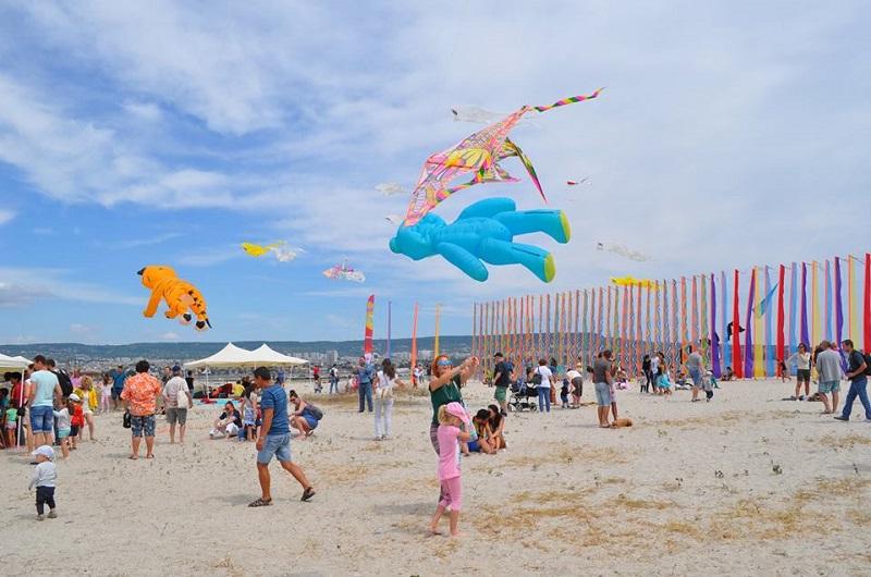 Фестивал на хвърчилата на къмпинг Градина