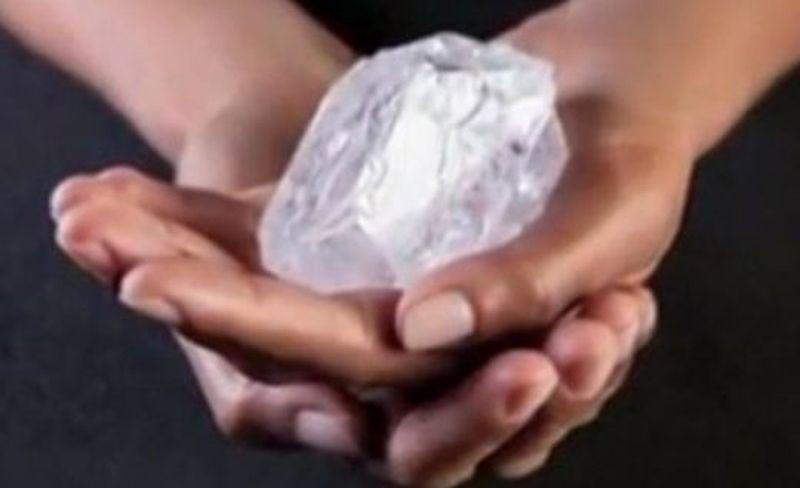 Продава се най- големият нешлифован диамант в света