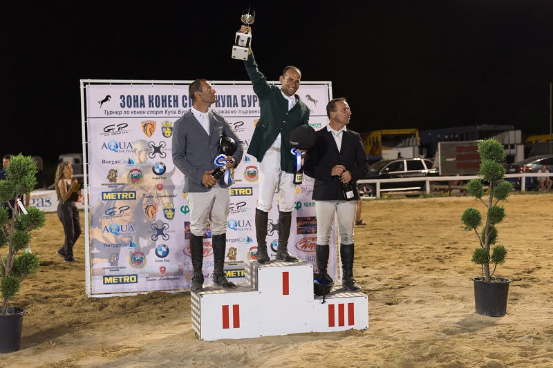Завърши турнирът по конен спорт Купа Бургас