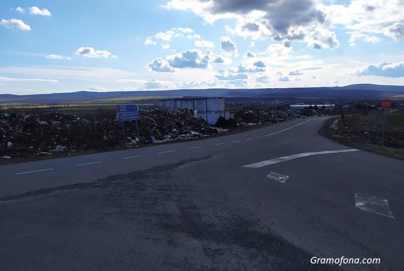 Закриват депото за отпадъци в Руен, но кубовете с пестициди остават