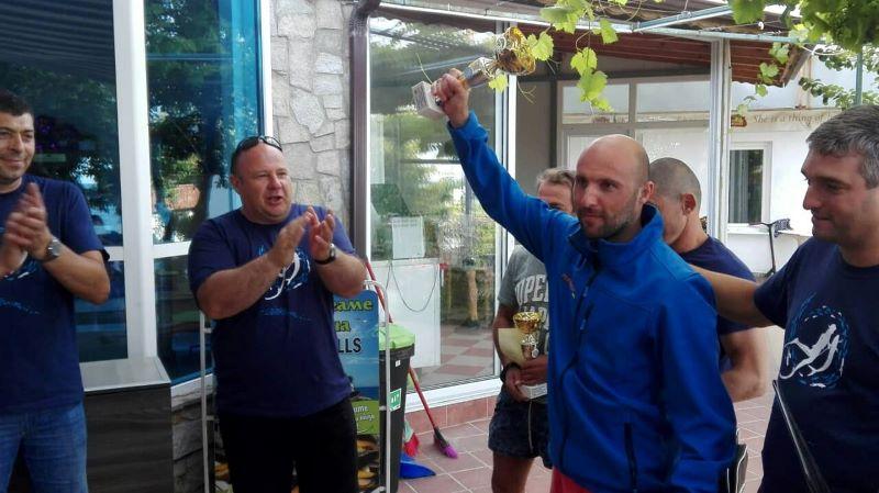 Състезател от Приморско спечели турнира по подводен риболов в Тюленово