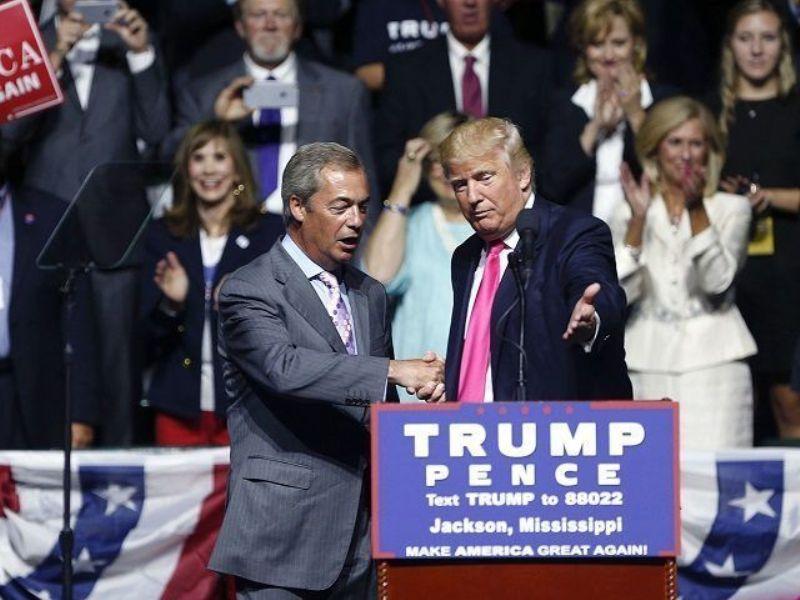 Тръмп и Фарадж – две страни на една монета
