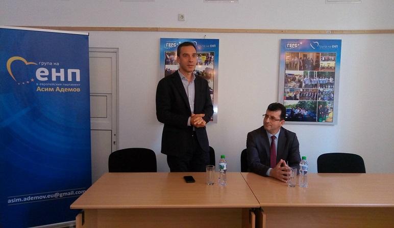 Евродепутат води ученици от Английската в Брюксел