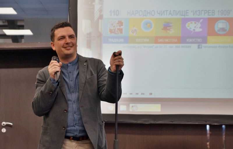 Александър Чобанов: Бургас е четящ град, мисля да се преместя тук