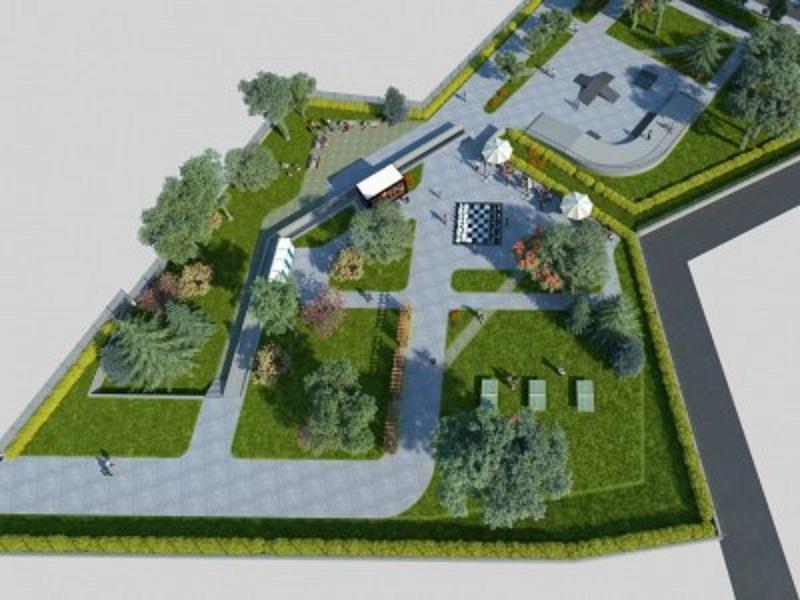 Зелен парк и спортен комплекс ще има на мястото на блатото в Меден Рудник