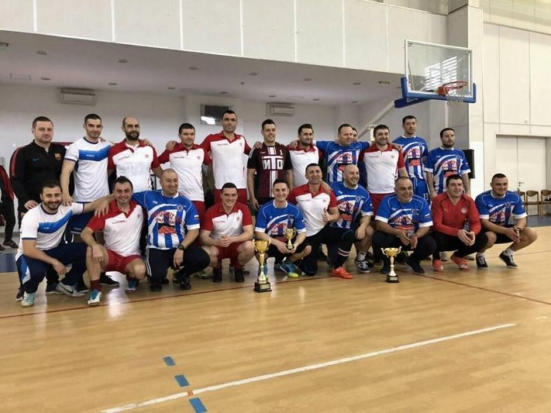 25 отбора се включиха в благотворителния турнир на бургаската полиция