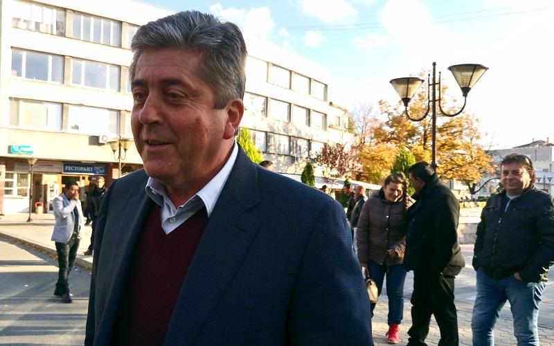 Георги Първанов пристига за закриването на кампанията на АБВ в Бургаско