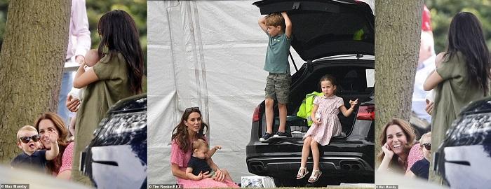 Бебето на принц Хари и Мегън с първа публична проява