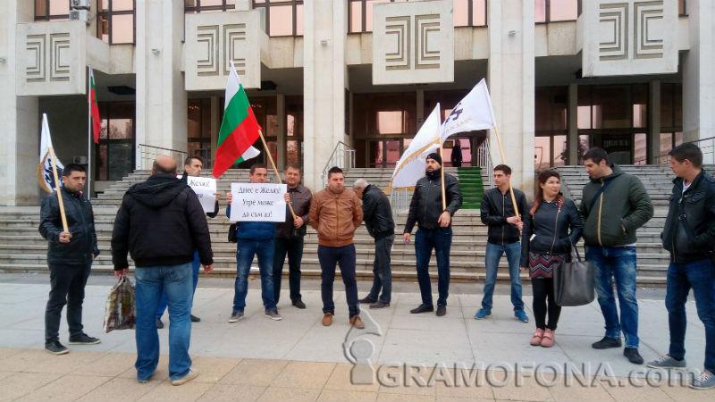 Малка подкрепа за Желяз Андреев и от Бургас