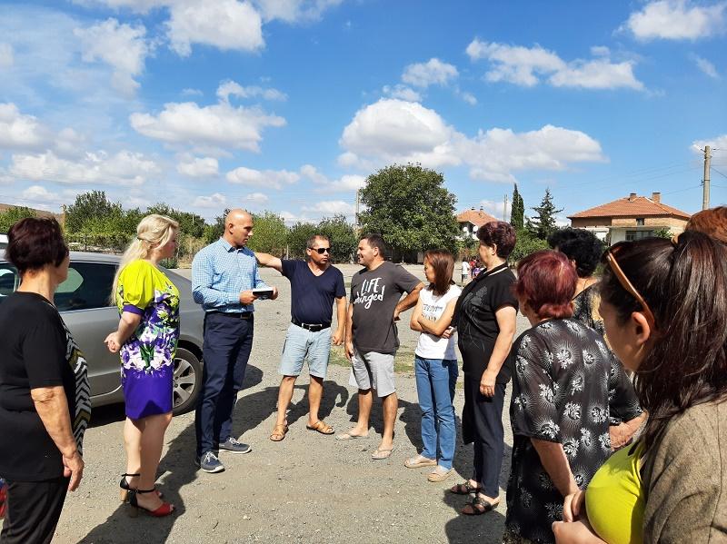 Николай Тишев се срещна с жители на Българово и Равнец