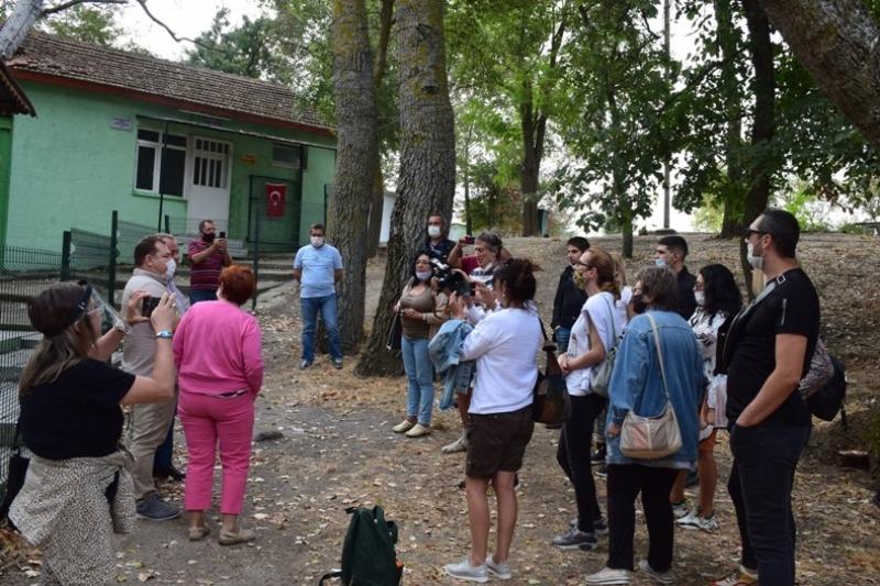 Журналисти проследиха пътя на легендите в турската част на Странджа