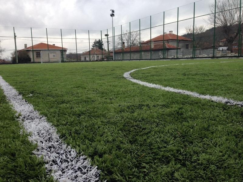 Откриват модерно футболно игрище във Веселие