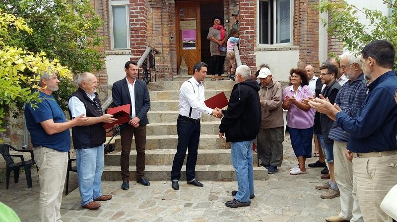 Скулптори и художници размениха ролите си в Ахтопол