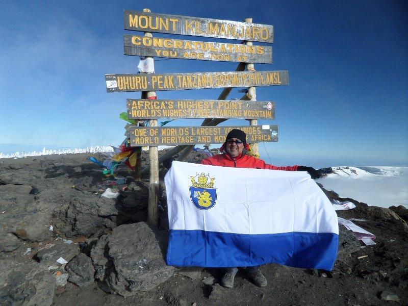 Ето кой развя бургаското знаме на най-високата точка в Африка