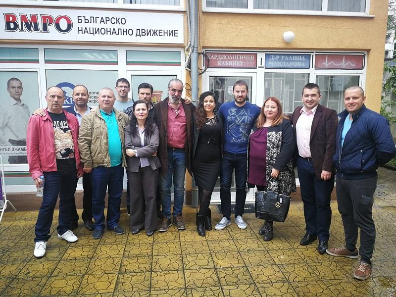 Андрей Слабаков и ген. Шивиков на посещение в Бургас