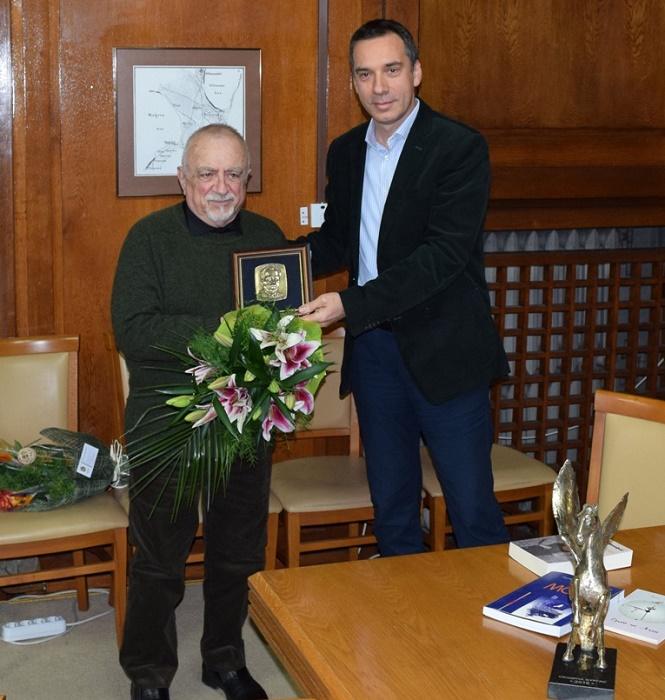 Ваньо Вълчев със Златен пегас за цялостно творчество