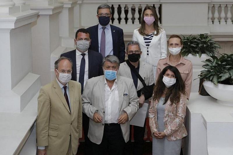 Бургаският депутат Ася Пеева на работна среща с посланиците на САЩ и Германия