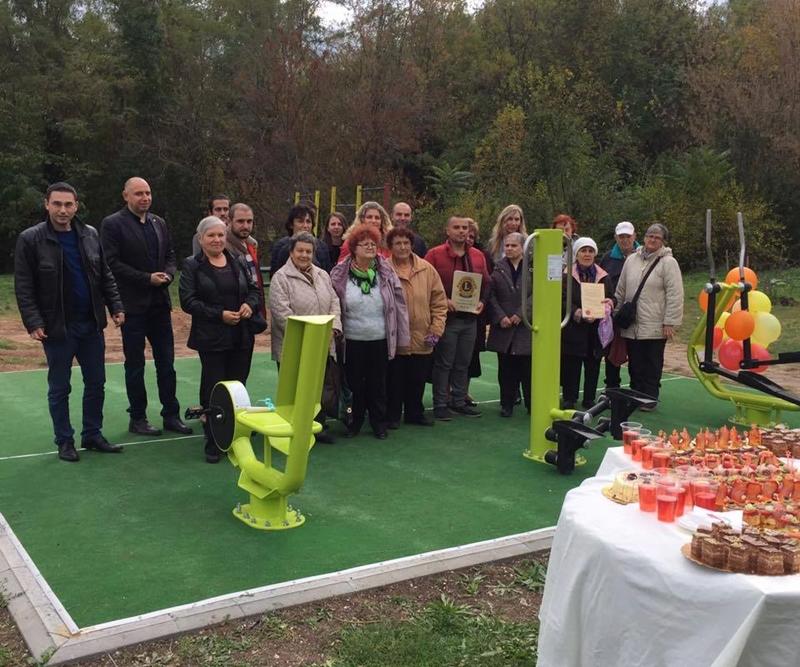 Нова площадка за спорт и отдих в Бургас