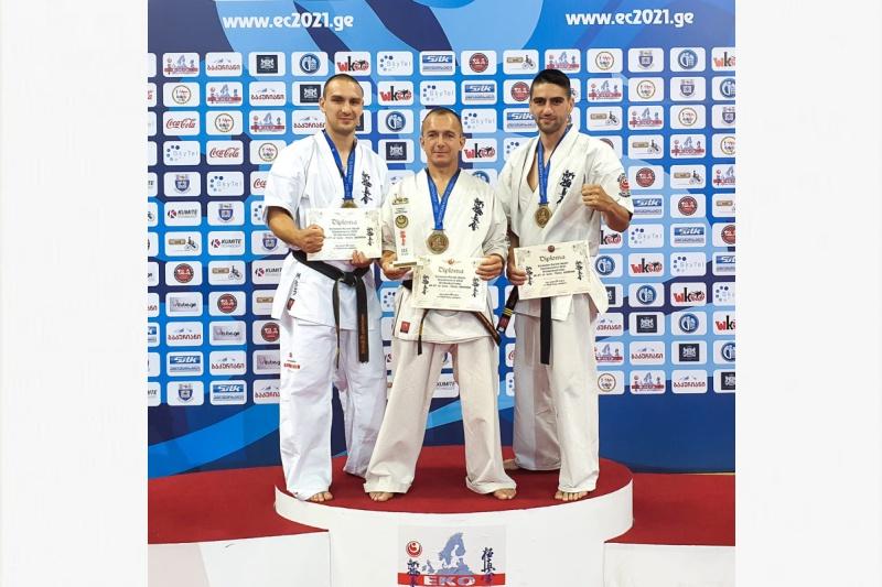 Несебърски майстори на карате с голям успех на европейското в Тбилиси
