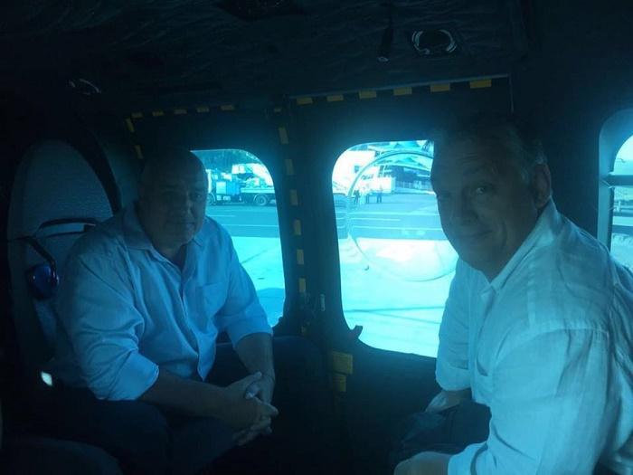 Борисов и Орбан са на границата